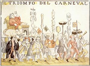 Verona Carnevale drawing