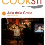 Julia is CHEF of the DAY on COOKSTR.COM - February 10th
