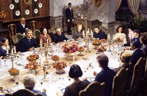 The famous scene at Prince Salina's table, from the film, The Leopard.