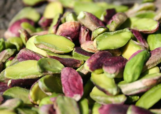Bronte pistachios from the slopes of Mount Etna in Sicily.  Photo courtesy of www.gustiamo.com