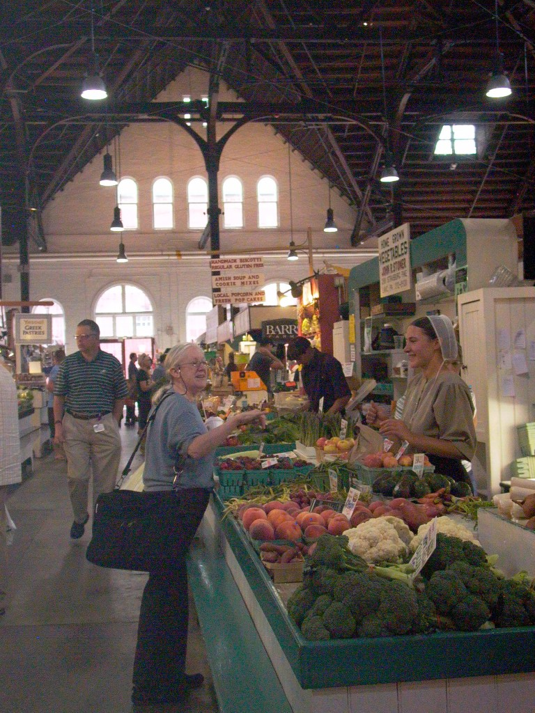 Inside the Central Market, everything from Lebanon Valley produce to Kuwaiti cooking.  Photo: Nathan Hoyt
