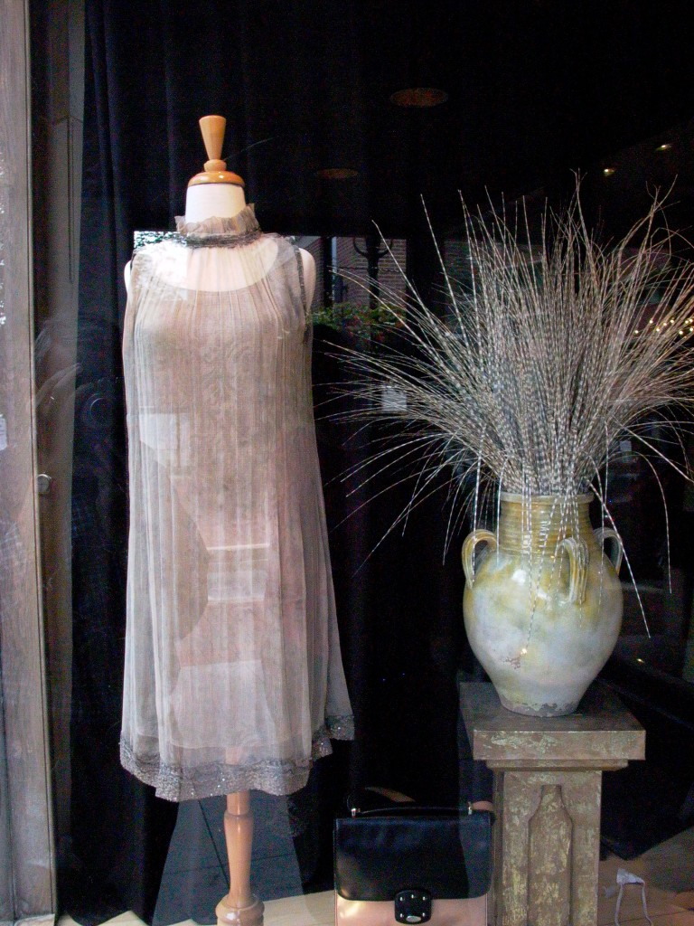 A dress I loved in a shop window.  Photo: Nathan Hoyt