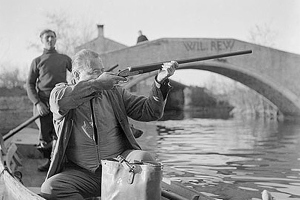Hemingway decimated the wild duck population on Torcello, where he hunted and wrote. Photo: Foto Graziano Aric