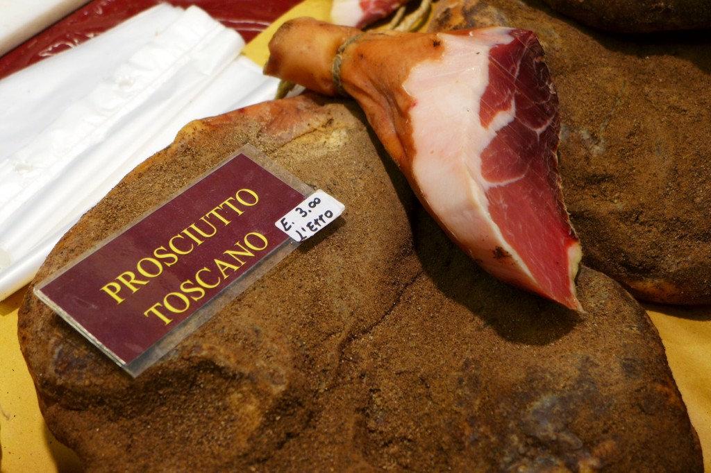 Deboned Tuscan prosciutto. Credit: Nathan Hoyt