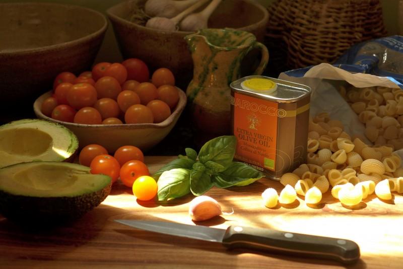 Ingredients for Pasta alla Destefanis.   Photo: Nathan Hoyt