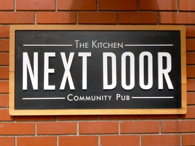 The Kitchen Next Door, on Pearl Street.  The idea is simple, simple, simple good local ingredients.