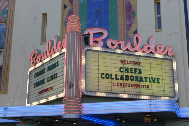 Boulder Theater founded by Desi Arnez, site of Chefs Collaborative food truck rally.