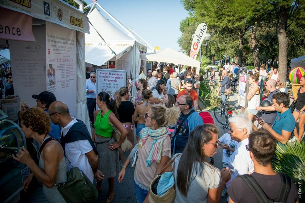 Gelato Village, Rimini. | Photo: Dino Buffagni, Gelato World Tour