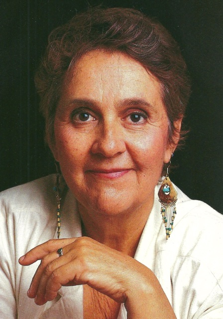 The late Matina Colombotos, by portrait photographer Richard Bowditch, reprinted from COOK'S, 1981