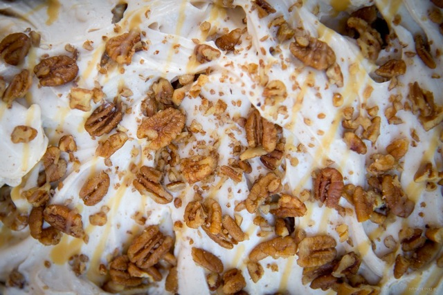 Texas Pecan Pie gelato, from Téo, Austin, TX. Photo: Dino Buffagni, Gelato World Tour