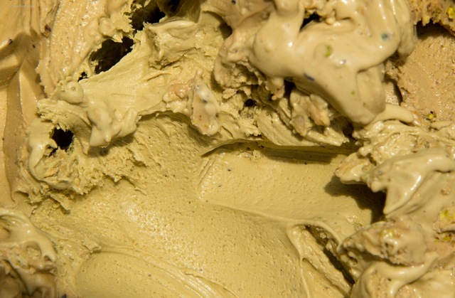Sicilian Pistachio Gelato, from Il Cantagalli, Lamezia Terme, Italy. | Photo| Dino Buffagni, Gelato World Tour