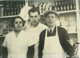 Concetta Di Palo and her husband, Luigi Santomauro with Lou's father, Savino. Courtesy: Lou (Santomauro) Di Palo