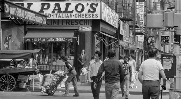 Di Palo Fine Foods on Grand Street, 1974. Photo: Eddie Hausner, The New York Times