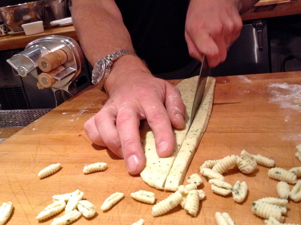 Gnocchi lesson with Chef Alex for a little pasta dish with Colorado lamb ragù.