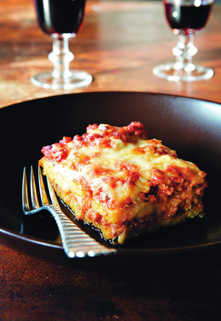 Giulia's polenta cake with