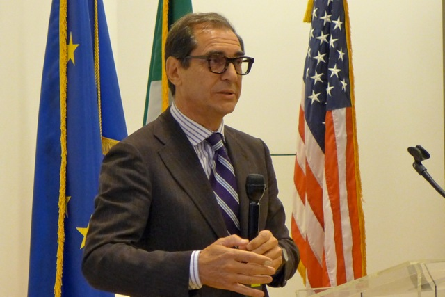 A recap of accomplishments bringing Italian businesses and American markets together, and a farewell to staff.