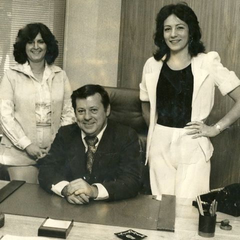 My political days in the NYS Assembly, with Representative Robert J. Connor (Democrat, 96th Assembly District), 1976.
