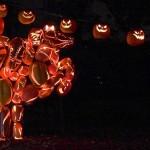 Blazin' Jack-o'-Lanterns!