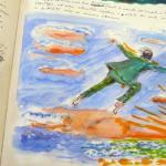 Fellini Drawings Disappear